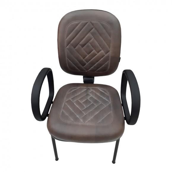 Cadeira Diretor Fixa Preto
